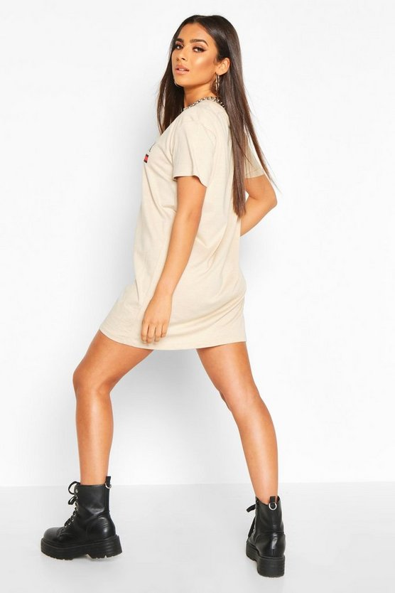 L'Amour Oversized T-Shirt Dress