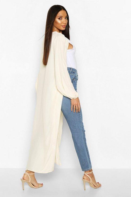 Maxi Balloon Sleeve Kimono