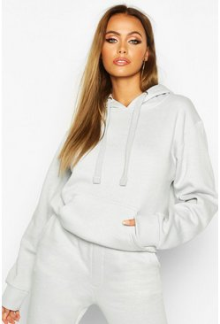 Light grey Oversized Hoodie