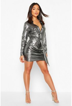 Dam Silver Metallic Shirt