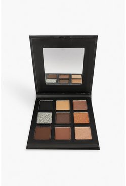 Womens Brown Technic 9 Shade Pigment Palette-Tempting