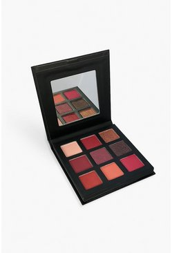 Palette Technic con 9 pigmenti - Intrigued, Rosa