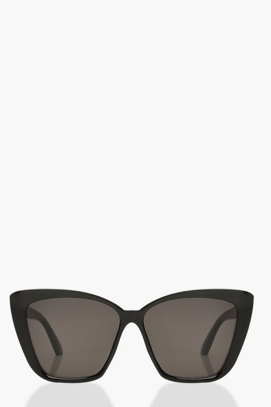 Oversized Pointed Square Sunglasses