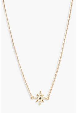 4a15f2238cbb9 Diamante Star Simple Choker