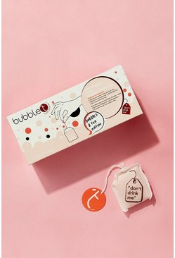Bubble T Summer Fruits Bath Tea Bags x 10, Pink, Donna