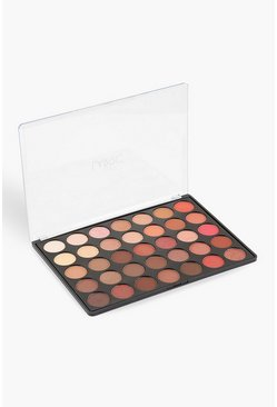 Brown 35 Shade Eye Shadow Palette - Fire Burst