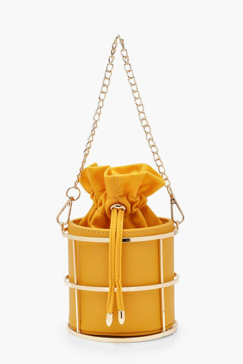 Image result for A metal cage mini duffle