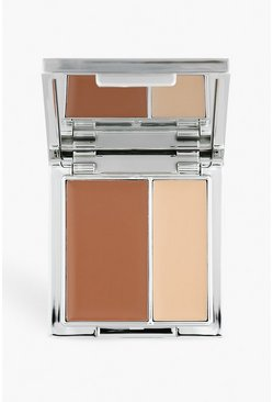 Womens Brown Memi Define & Shape Contour Duo - Tan