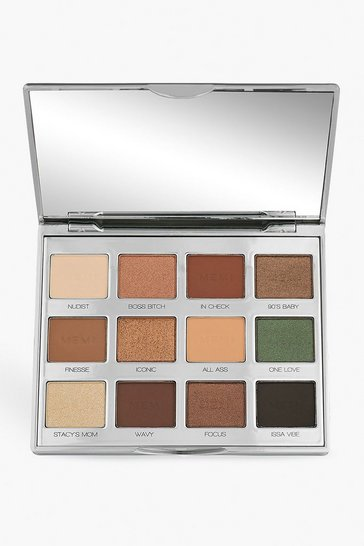 Womens Brown Memi Eye Shadow Palette - Millennial