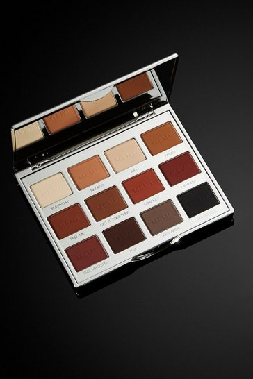 Womens Brown Memi Eye Shadow Palette - Matte Muse