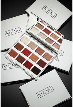 Memi Eye Shadow Palette - Creative Control, Brown, DAMEN