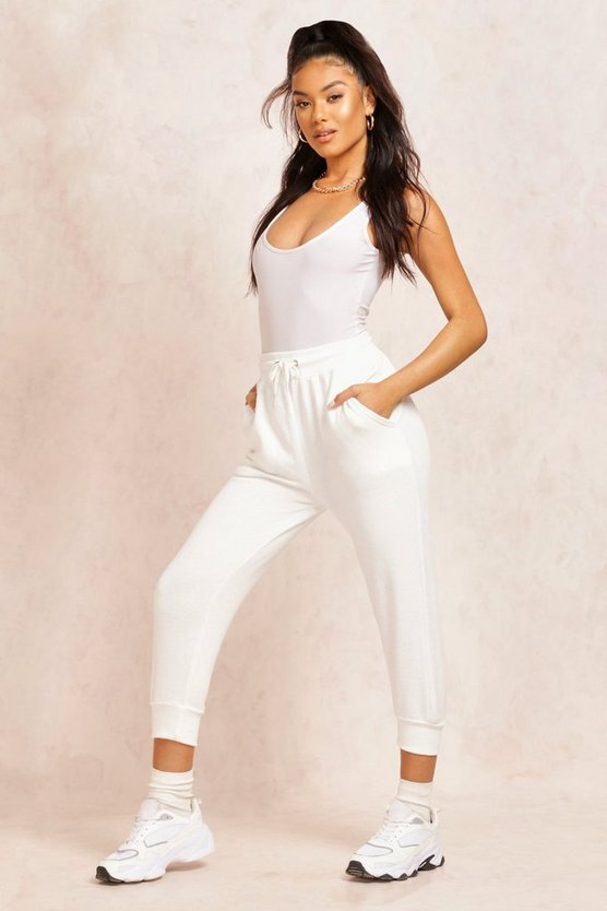 The Cropped Loopback Jogger