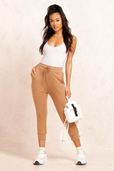 Stone The Cropped Loopback Jogger