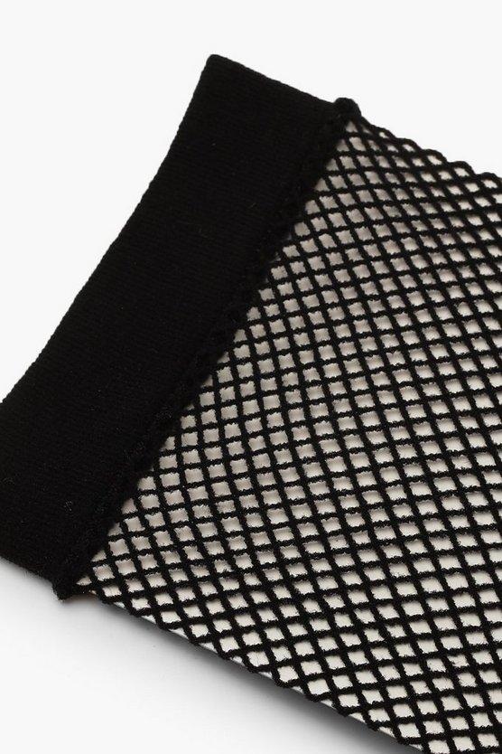 Medium Scale Fishnet Ankle Socks