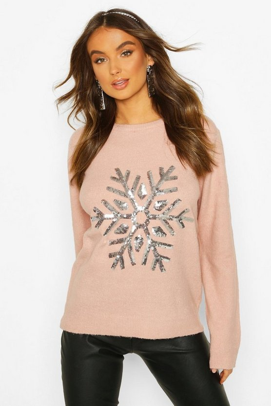 Snowflake Christmas Jumper