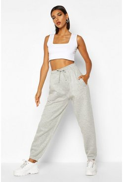 Womens Grey Oversized Jogger