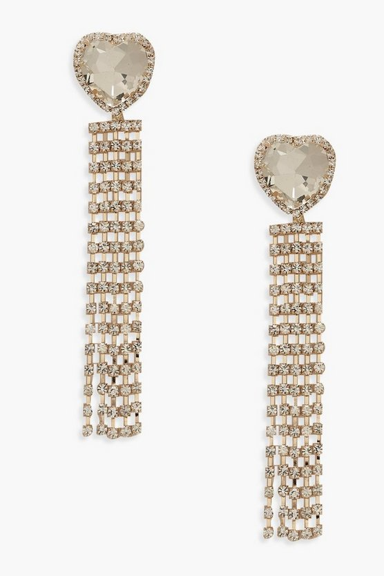 Premium Oversized Heart Earrings