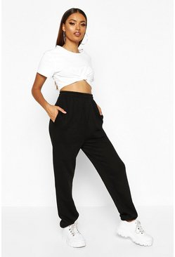 Black The Boyfriend Loopback Jogger