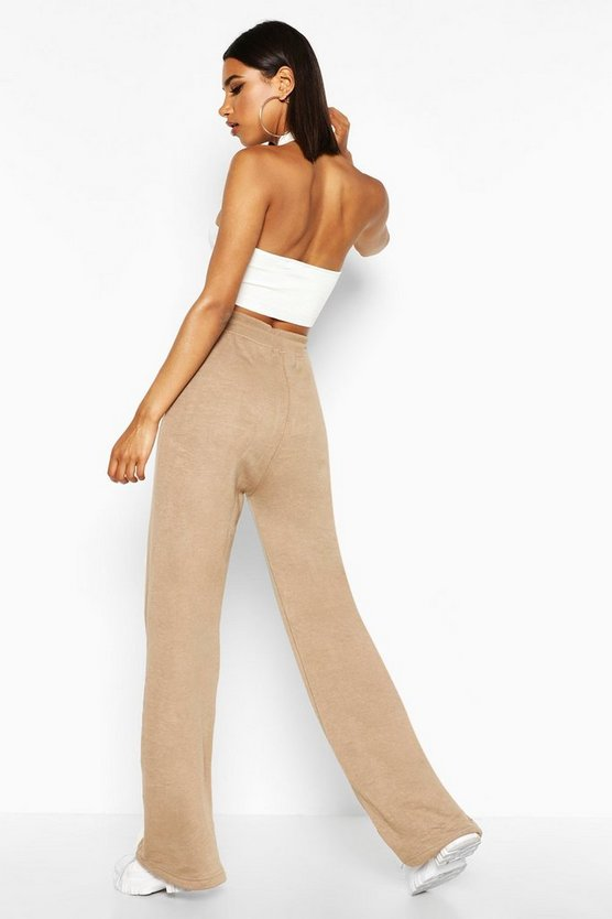 The Wide Leg Loopback Jogger