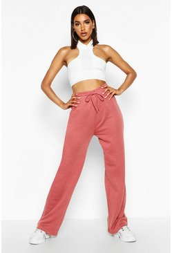 Womens Rose The Wide Leg Loopback Jogger