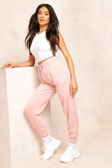 Womens Blush The Slim Leg Loopback Jogger
