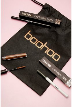 Womens Brown Boohoo Brows On Fleek Kit
