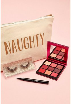 Womens Cream Boohoo Naughty Beauty Kit