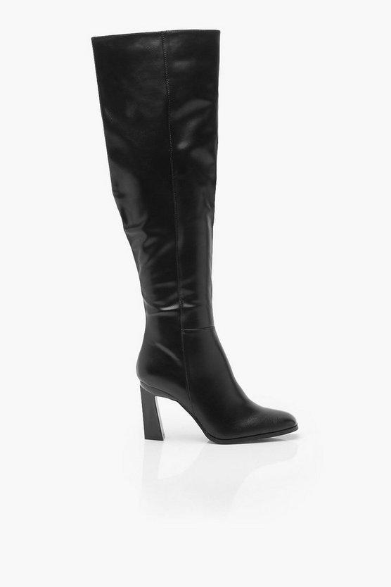 Interest Heel Over The Knee Boots