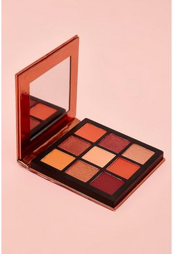 Womens Boohoo 9 Pan Nude Eye Shadow Palette