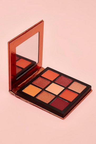 Boohoo 9 Pan Nude Eye Shadow Palette