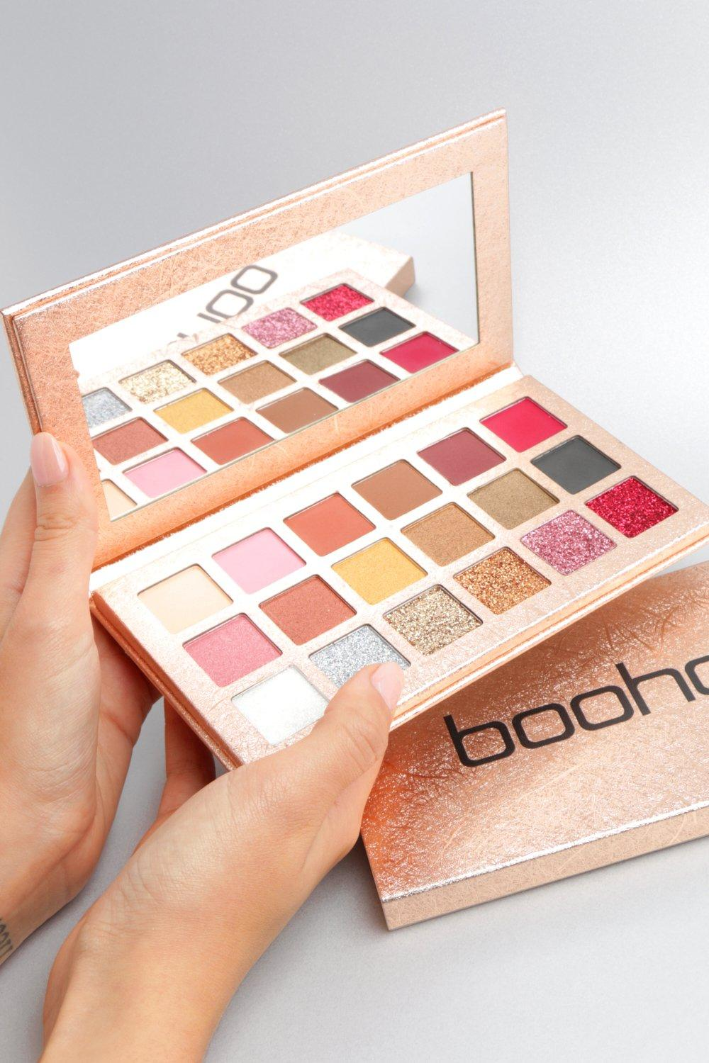Boohoo Rose Gold Eye Shadow Palette by Boohoo