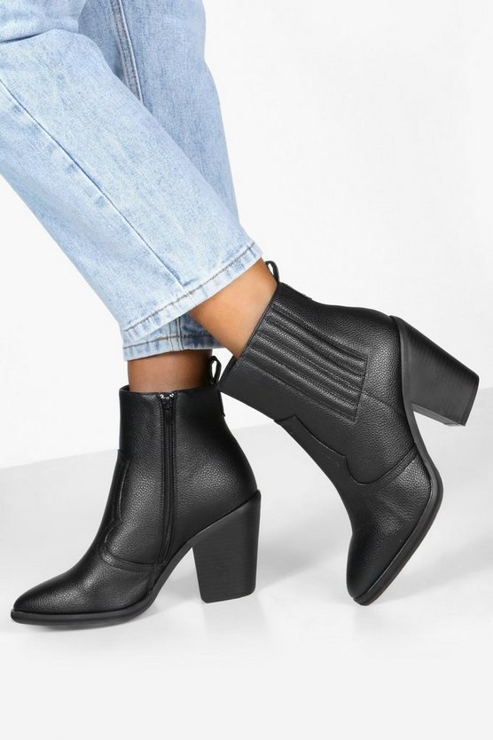 Wide Fit Western Boots