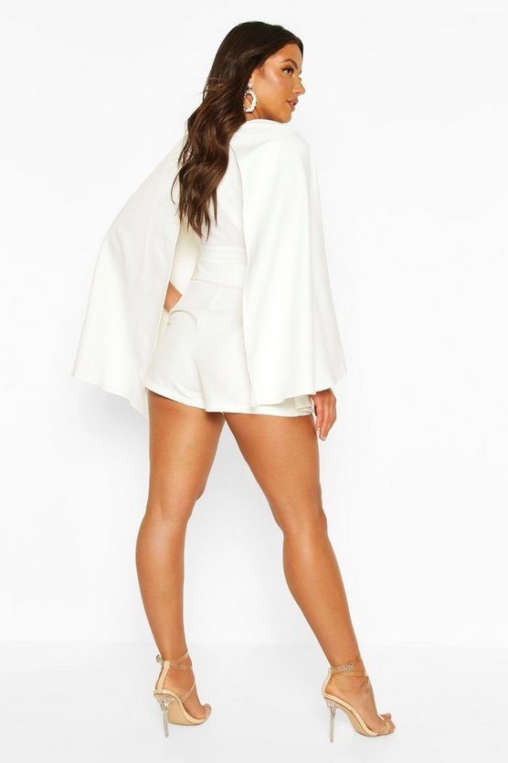Tailored Belted Shorts