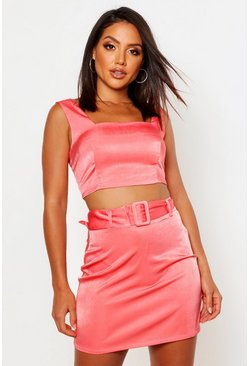 Rose Square Neck Bralet