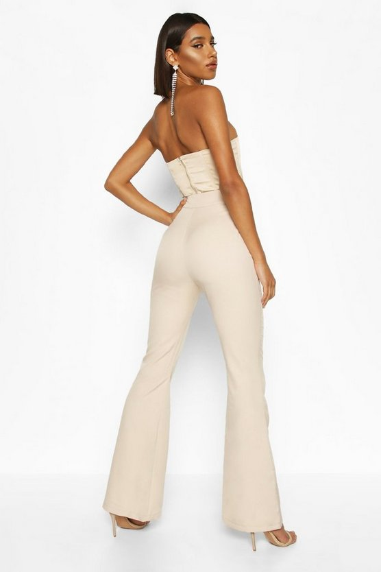 Slim Flare Tailored Trouser
