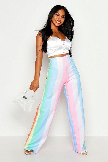 1bc97f85b1a287 Womens Trousers | Summer Trousers | boohoo UK