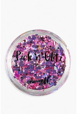 Pot de paillettes biodégradables Pick & Glitz Barry M - Sass, Violet, Femme