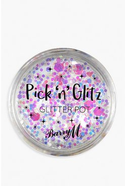 Pot de paillettes biodégradables Pick & Glitz Barry M - Lit, Multi, Femme