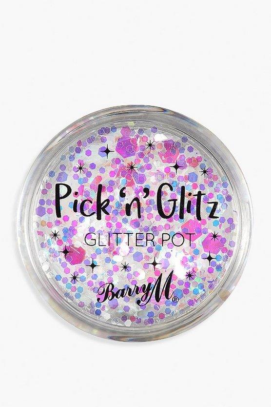 Barry M Pick & Glitz Glitter Pot - Lit