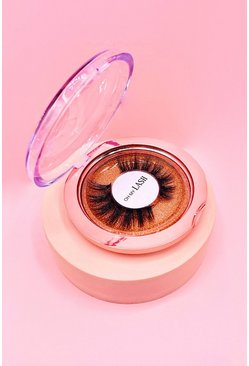 Womens Orange Oh My Lash Girl Power Reusable Lashes
