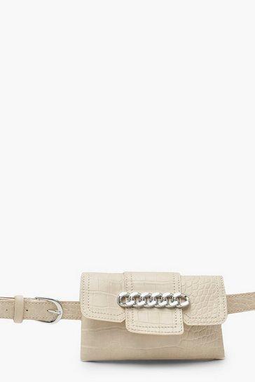 6e5d82dd5de Chunky Chain Croc Belt Bag