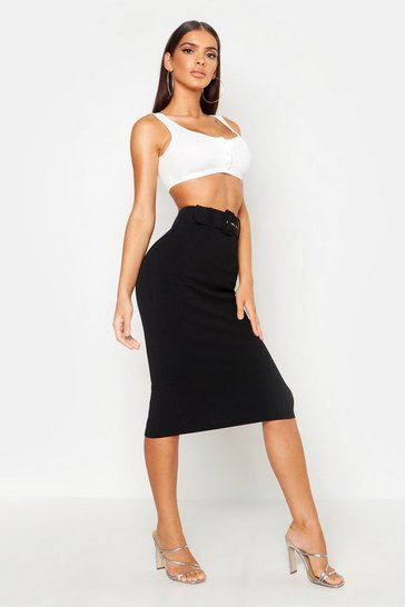 09456e7d6c Pencil Skirts | High Waisted Pencil Skirts | boohoo UK