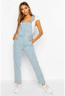 Womens Light blue Denim Dungaree