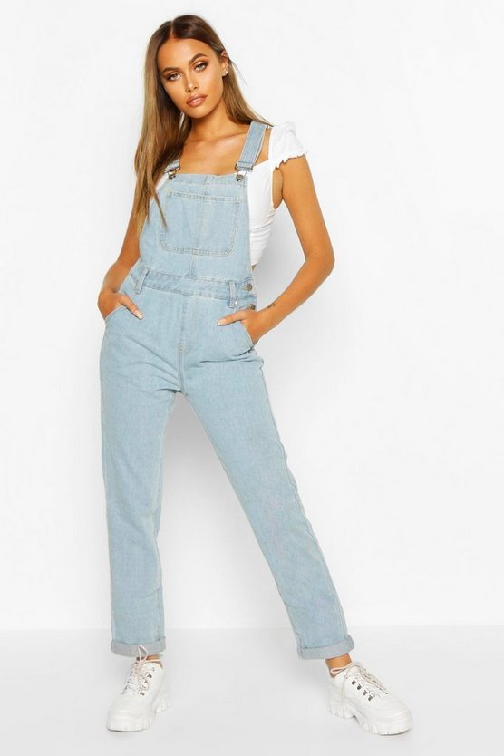 Denim Dungaree by Boohoo