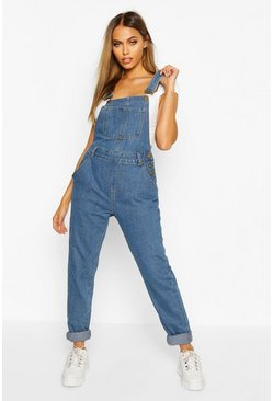 Mid blue Denim Overall