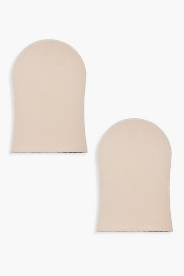 Womens Black Boohoo 2 Pack Tanning Mitt
