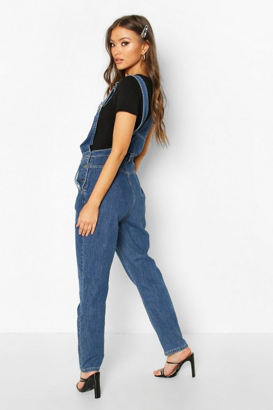 Slim Fit Denim Dungaree