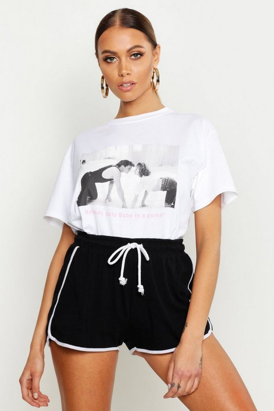 Dirty Dancing Licenced T Shirt by Boohoo