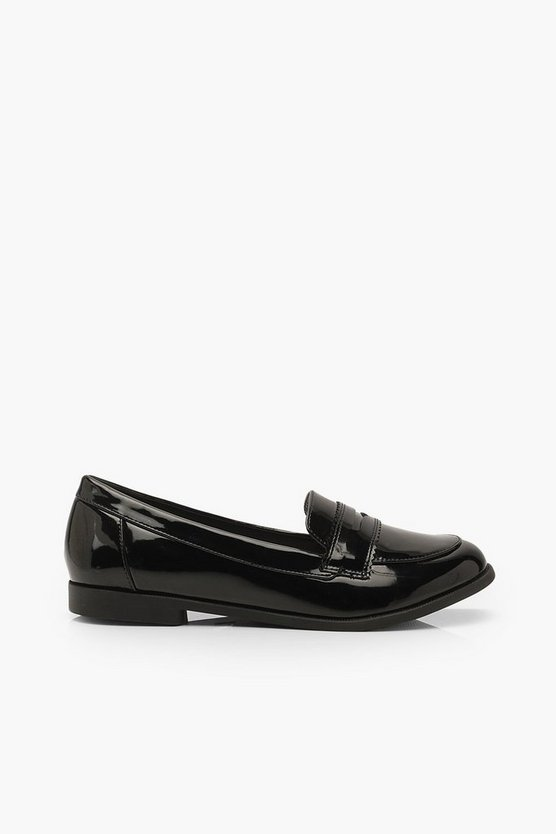 Wide Fit Flat Loafers