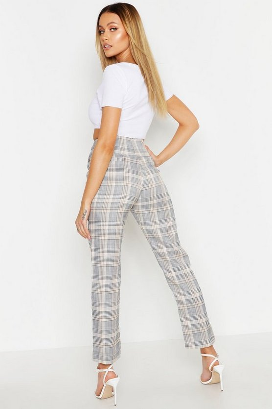 Check Tailored Trouser